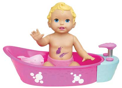 Little Mommy Bubbly Bathtime Doll