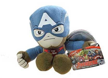 Marvel Avengers: Age of Ultron Captain America Talking Plush Figure