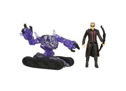 Marvel Avengers Age of Ultron Hawkeye Vs. Sub-Ultron 004 2.5-inch Figure Pack