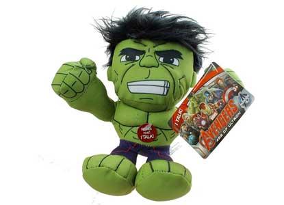 Marvel Avengers: Age of Ultron Incredible Hulk Talking Plush Figure