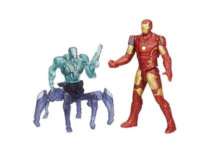 Marvel Avengers Age of Ultron Iron Man Mark 43 Vs. Sub-Ultron 001 2.5-inch Figure Pack