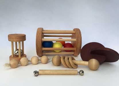 Montessori Baby Set of 6 Toys