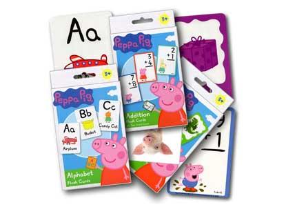 Peppa Pig Flash Cards Super Set