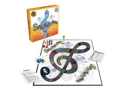 Spontuneous Board Game: The Game Where Lyrics Come to Life