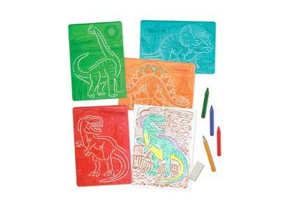 Textured Stencils – Dinosaurs