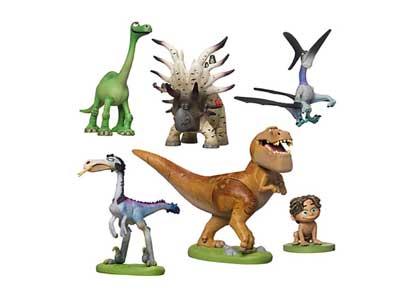 The Good Dinosaur 6 Piece Figure Play Set