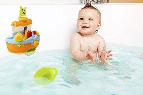 Wall Mountable Pirate Ship Bath Tub Toy