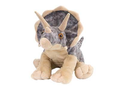 Wild Republic Cuddlekin Triceratops 12'' Plush