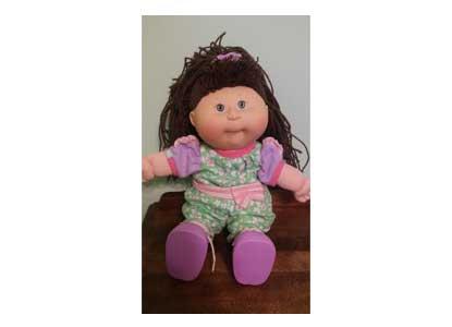 1991 Hasbro Crimp and Curl Doll