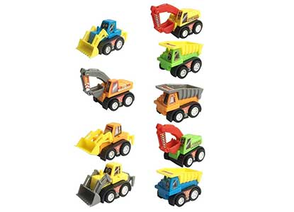 9 Pack Pullback Trucks