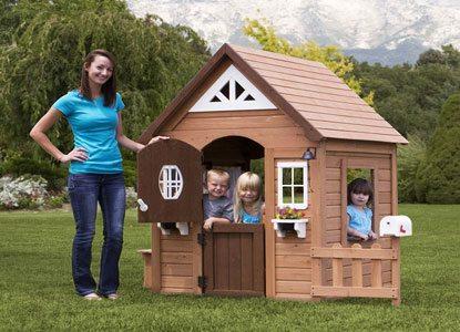Aspen Wood Playhouse