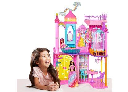 Barbie Rainbow Cove Princess Castle