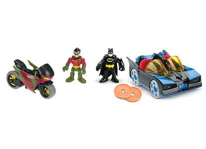 Batmobile and Cycle