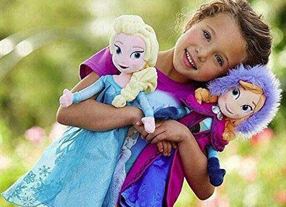 Disney Frozen Princess Elsa & Anna Doll Set