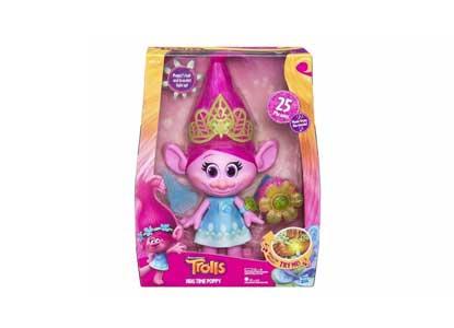 Dreamworks Trolls Hug Time Poppy Interactive Toy Doll