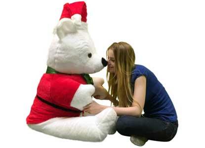 Giant Santa Bear