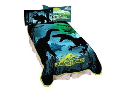Jurassic World Dino Experience Microraschel Blanket