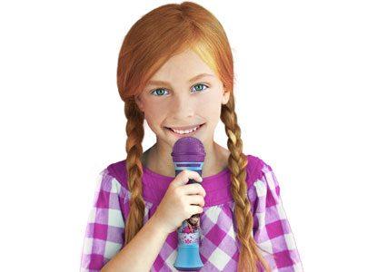 KIDdesigns Frozen Magical MP3 Microphone