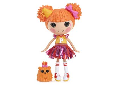 Lalaloopsy Doll- Peppy Pom Poms