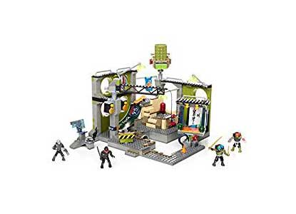 Ninja Turtles Mega Bloks Sewer Hideout Construction Kit