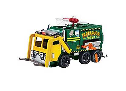 Ninja Turtles Movie 2 Out of the Shadows Garbage Truck