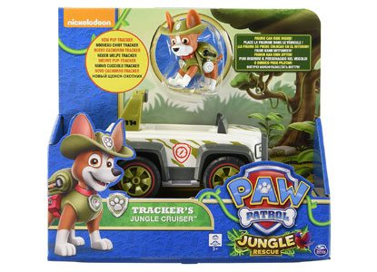 Paw Patrol Jungle Rescue Tracker's Cruiser Vehicle