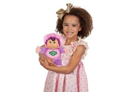 Purple Retro Baby Doll