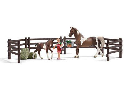 Schleich Horse Feeding Play Set