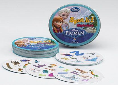 Spot it! Disney Frozen – Alphabet