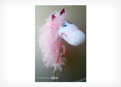 Diy Glamorous Hobby Horse
