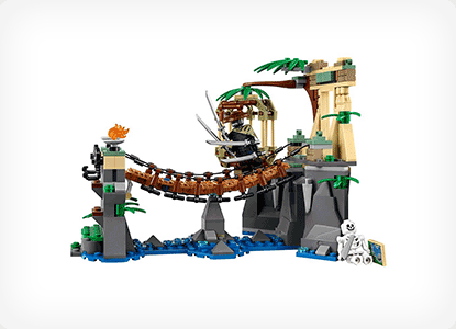 LEGO Ninjago Movie Master Falls Building Kit