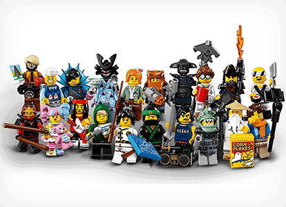 LEGO Ninjago Movie Collectible Minifigures