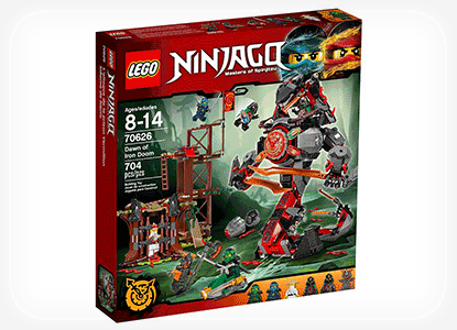 LEGO Ninjago Dawn of Iron Doom Toy