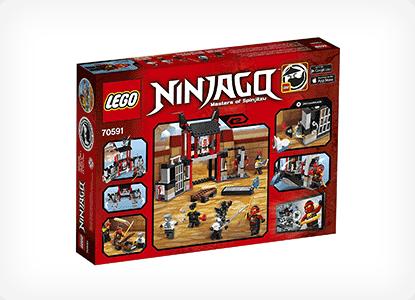 LEGO Ninjago Kryptarium Prison Breakout Building Kit