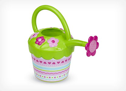 Melissa & Doug Sunny Patch Pretty Petals Flower Watering Can