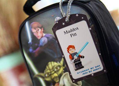 Diy Star Wars Printable Tags & Stickers