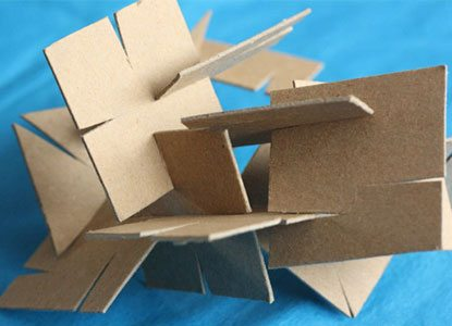 Diy Cardboard Construction Set