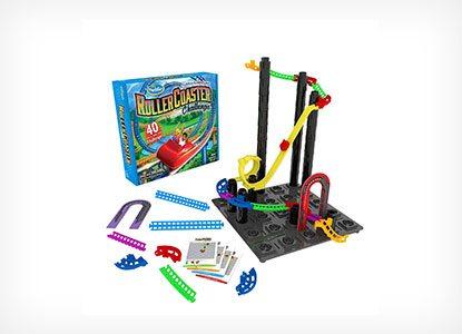 Roller Coaster Challenge Logic & Building Game