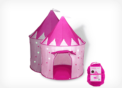 FoxPrint Princess Castle Play Tent