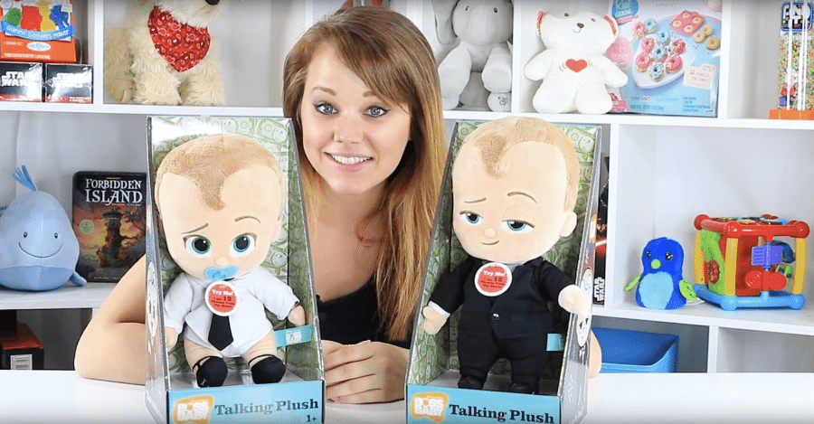 Commonwealth Toy The Boss Baby Talking Suit And Talking