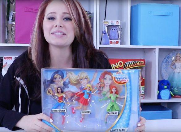 DC Super Hero Girls Triple Team Collection Dolls