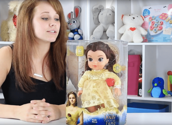 Disney Live Action Baby Belle Doll
