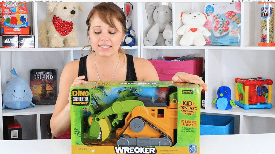 Educational Insights Dino Wrecker T-Rex Loader
