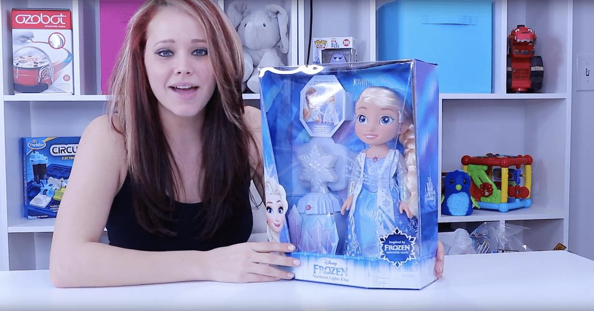 Frozen Northern Lights Elsa Doll