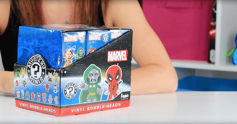 Funko Marvel Mystery Mini Vinyl Figure Box