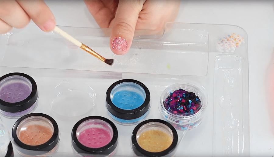 Kids Glitter Nail Art Set Review