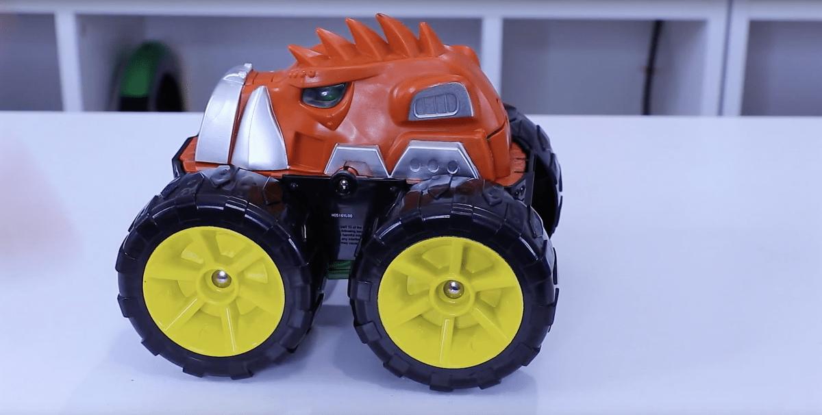 Monster Treads Flipper Boar Combine Vehicle