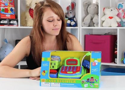 Multi-functional Toy Cash Register
