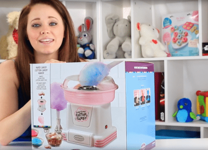Nostalgia Hard and Sugar Free Cotton Candy Maker