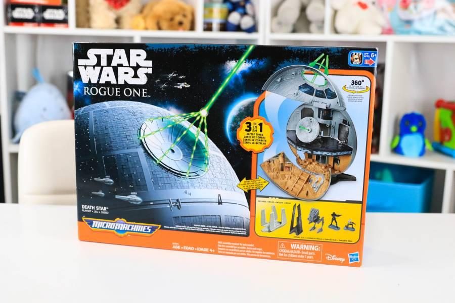 Star Wars Rogue One Micro Machines Death Star Playset